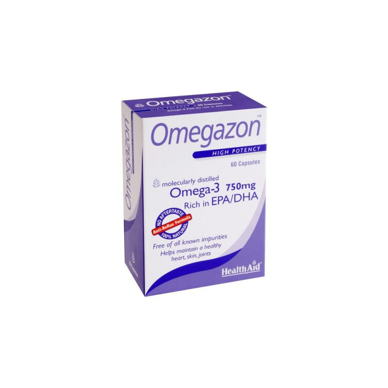Health Aid Omegazon Blister 60 κάψουλες