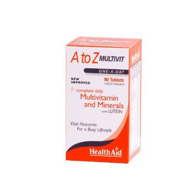 Health Aid A to Z Multivit One A Day 90caps
