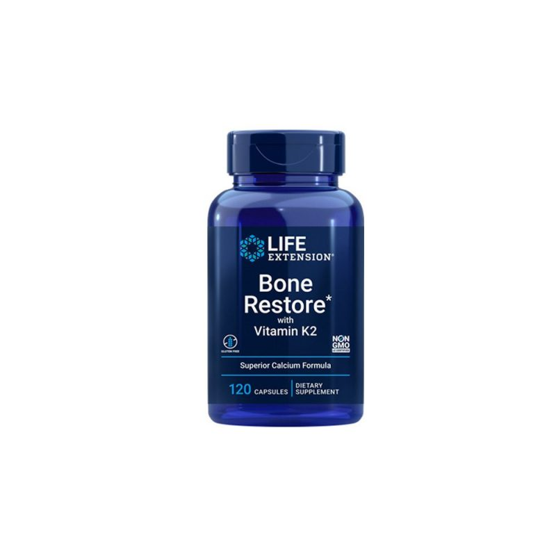 Life Extension Bone Restore With Vitamin K2 120 κάψουλες