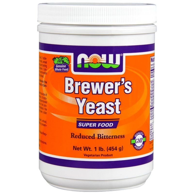 Now Foods Natural Foods Brewer'S Yeast Powder (Debittered) 454gr