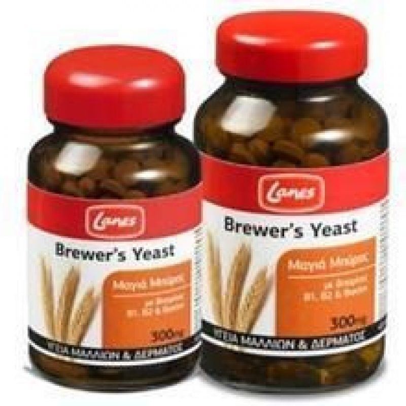 Lanes Brewer's Yeast 300mg 200tabs