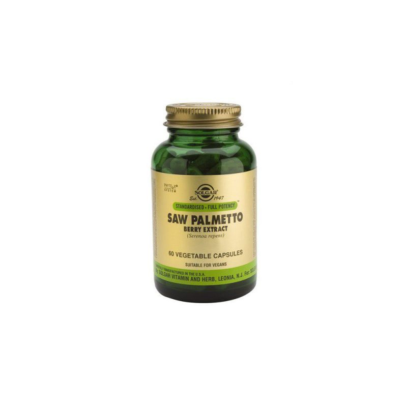 Solgar Sfp Saw Palmetto Berry Extract 60 φυτικές κάψουλες