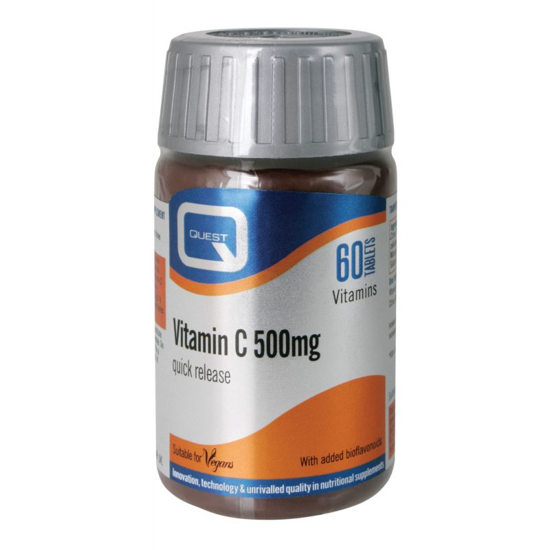 Quest VITAMIN C 500mg QUICK RELEASE