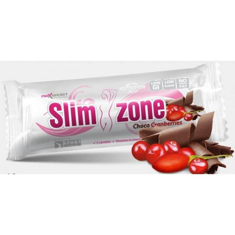 Slim Zone Choco Cranberry Goji 40gr (Συμβατικό)
