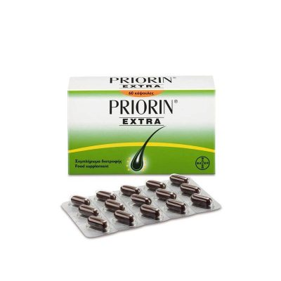 Priorin Priorin Extra σε συσκευασία των 30καψουλών