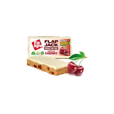 FIT SPO Fit Spo Μπάρα Βρώμης Flapjack Smoothie-Cherry 90gr