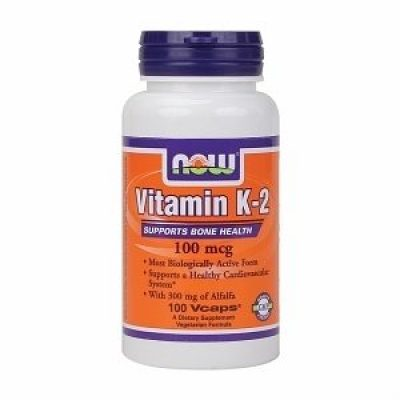 NOW Now Foods Vitamin K2 100mg 100caps
