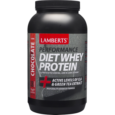 Lamberts Lamberts Diet Whey Protein Chocolate Flavour 1000gr