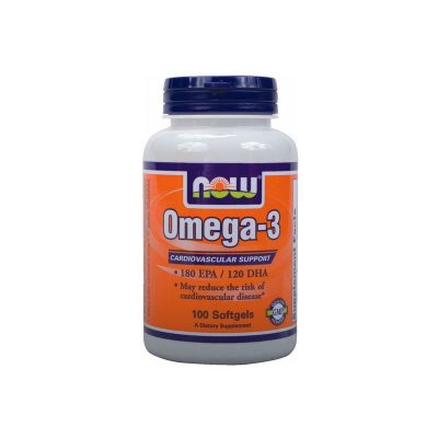 NOW Now Omega-3 1000mg 100softgels