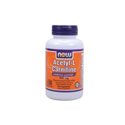 NOW Now Acetyl L-Carnitine 500mg 50veg.caps
