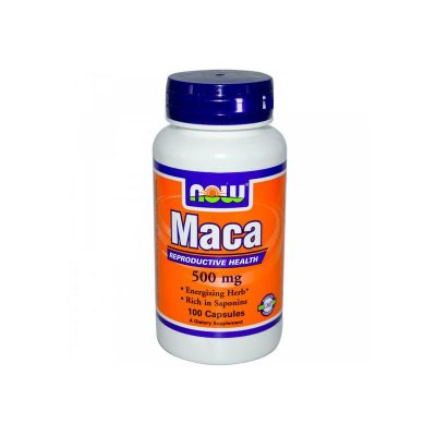 NOW Now Maca 500mg 100caps