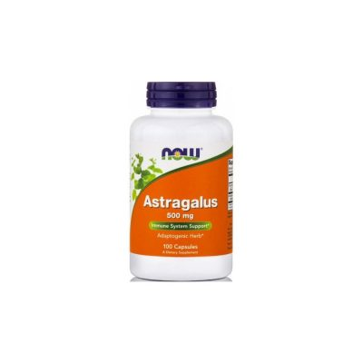 NOW Now Astragalus 500mg 100 κάψουλες