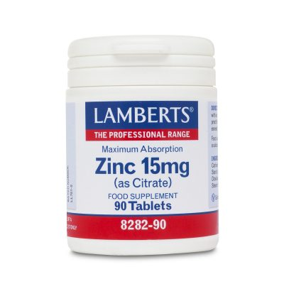 Lamberts Lamberts Zinc 15mg As Citrate 90tabs