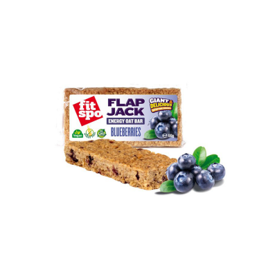 FIT SPO Fit Spo Μπάρα Βρώμης Flapjack Blueberry 90gr