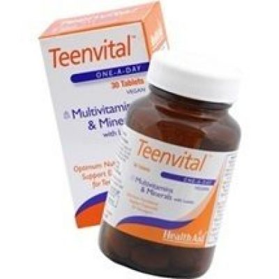 Health Aid Health Aid Teenvital Tablets 30 tabs (Ages 12-16)