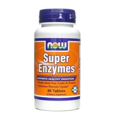 NOW Now Super Enzymes 90 tabs