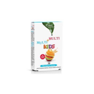 Power Health Power Health Multi+Multi Kids 30μασώμενα δισκία