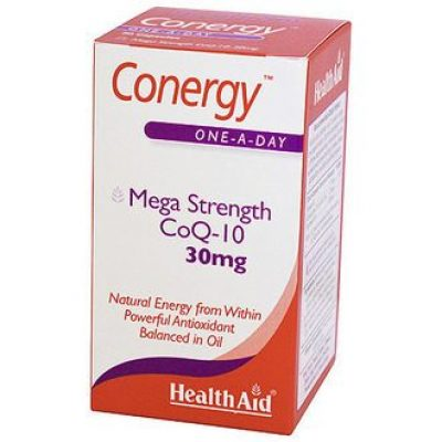 Health Aid HealthAid Conergy Mega Strength CoQ-10 30mg 90caps