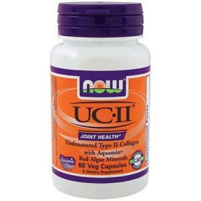 NOW Now UCII 800 mg, (Undernatured Type II Collagen) 60vcaps