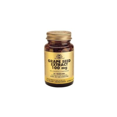 Solgar Solgar Grape Seed Extract 100mg 30 φυτικές κάψουλες