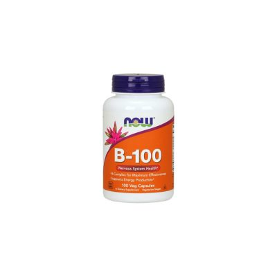 NOW Now Foods Vitamin B-100 Complex 100 Veg Capsules