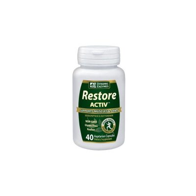 AM HEALTH AM Health Dynamic Enzymes Restore Activ 40caps