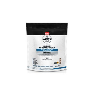 Lanes Lanes The Active Club - Premium Native Whey Protein Σοκολάτα 750gr