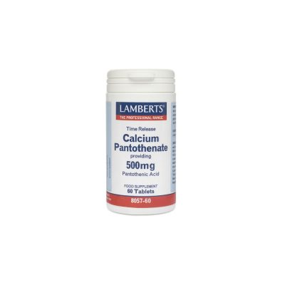 Lamberts Lamberts Calcium Pantothenate 500mg (B5) 60 ταμπλέτες