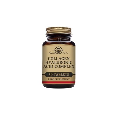 Solgar Solgar Collagen Hyaluronic Acid Complex 30 ταμπλέτες