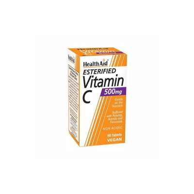 Health Aid Health Aid Esterified Vitamin C Balanced & Non Acidic 500mg 60 ταμπλέτες