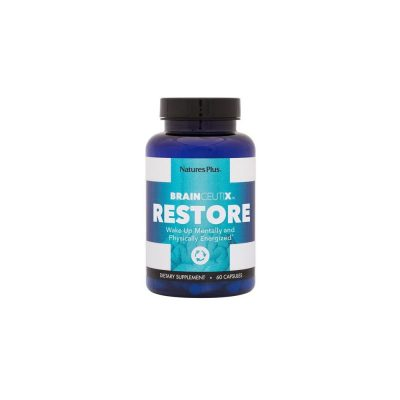 Nature's Plus Nature's Plus BrainCeutix Restore Φόρμουλα Ύπνου 60 κάψουλες