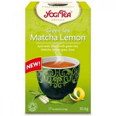 YogiTea YOGI TEA GREEN MATCHA LEMON