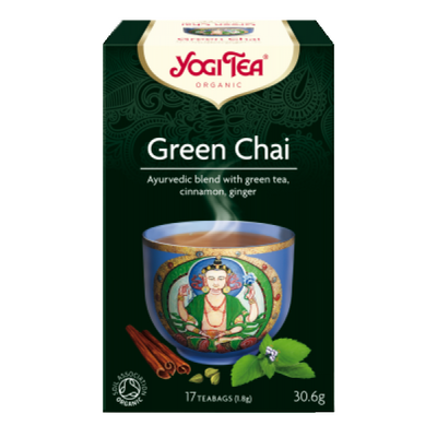 YogiTea Yogi tea green tea (πράσινο τσάι) 30gr
