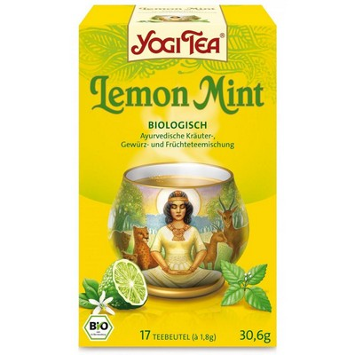 YogiTea Yogi tea lemon mint 30gr